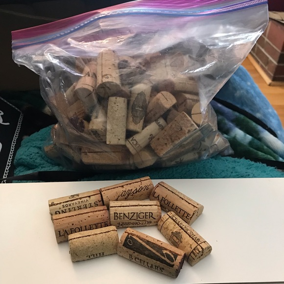 Other - Wine cork place card holders